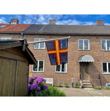 Hälsinglands Flagga Mörk verison