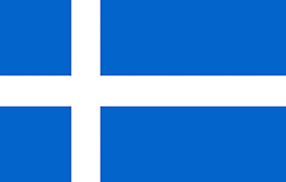 Shetland Öarna Flagga