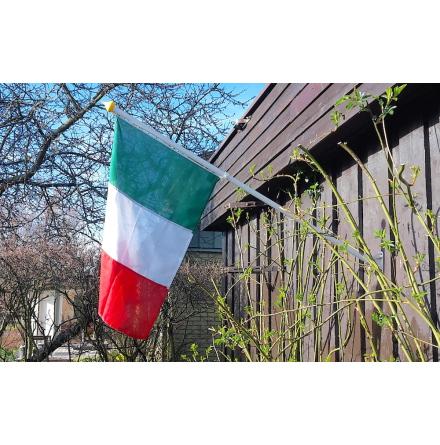 Fasadflaggstång 125cm