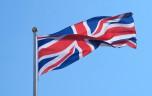 Storbritannien Flagga Tryckt