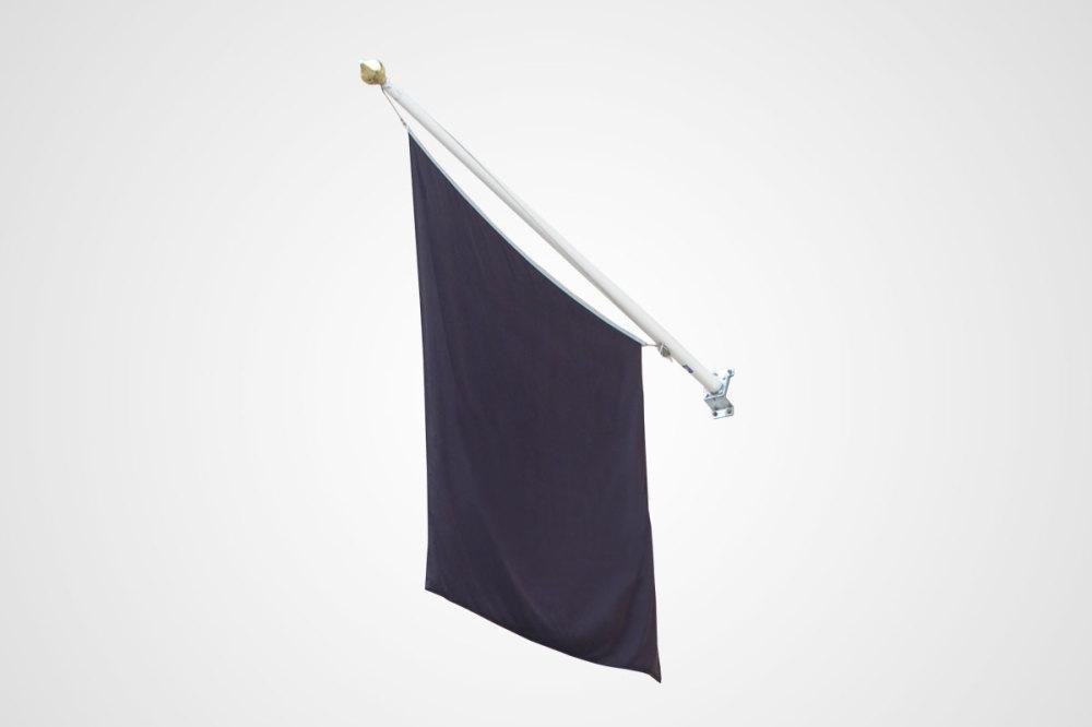 Fasadflaggstång